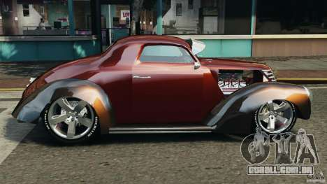Walter Street Rod Custom Coupe para GTA 4 esquerda vista