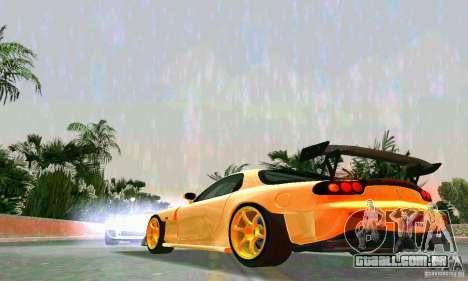 Mazda RX7 RE-Amemiya para GTA Vice City vista traseira