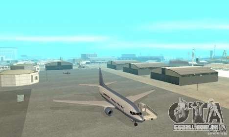 Airport Vehicle para GTA San Andreas décima primeira imagem de tela