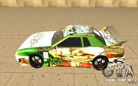 Graffiti de elegia para GTA San Andreas esquerda vista