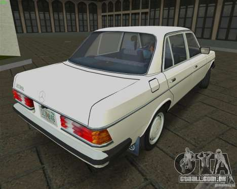 Mercedes-Benz 230 1976 para GTA Vice City deixou vista