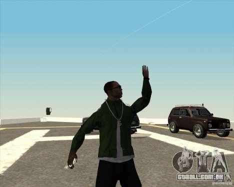 Animação diferente para GTA San Andreas sétima tela