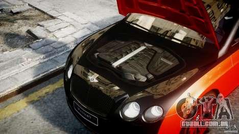 Bentley Continental SS 2010 Le Mansory [EPM] para GTA 4 vista direita