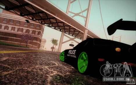 New roads San Fierro para GTA San Andreas terceira tela