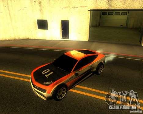 Exage para GTA San Andreas vista traseira