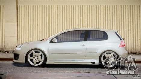 Volkswagen Golf GTI 2006 v1.0 para GTA 4 esquerda vista