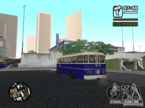 Ikarus 630 para GTA San Andreas vista direita