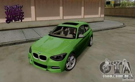 BMW M135i V1.0 2013 para GTA San Andreas