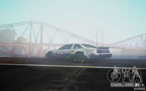 San Andreas Graphics Enhancement para GTA San Andreas segunda tela
