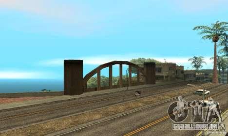 Grove Street 2013 v1 para GTA San Andreas nono tela