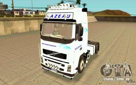 Volvo FH16 Globetrotter GAZEAU para GTA San Andreas