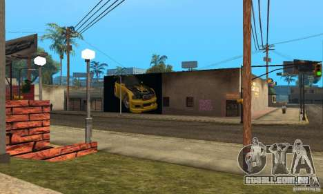 Grove Street 2013 v1 para GTA San Andreas terceira tela