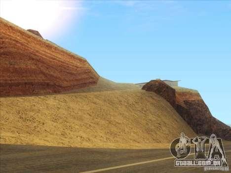 HQ Country Desert v1.3 para GTA San Andreas segunda tela
