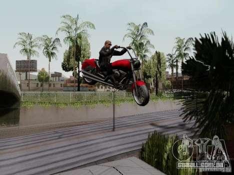 Vice City Freeway para GTA San Andreas vista traseira