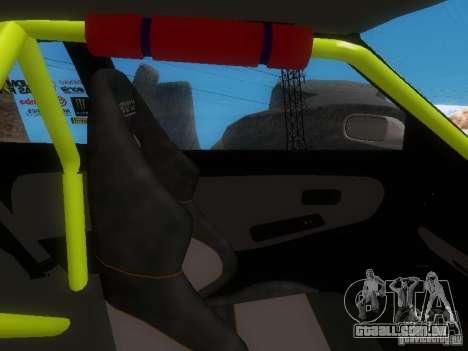 Nissan Silvia S13 Drift Style para GTA San Andreas vista inferior