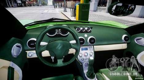 Ascari KZ-1 para GTA 4 vista de volta