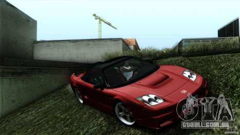 Honda NSX-R 2005 para GTA San Andreas traseira esquerda vista