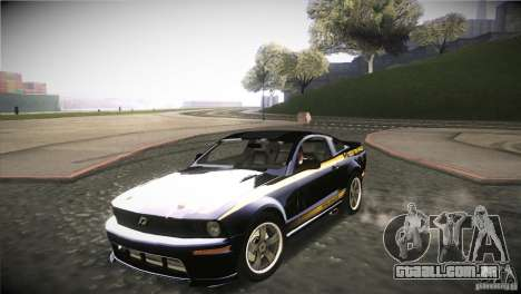 Shelby GT500 Terlingua para GTA San Andreas vista interior