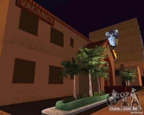 Real New Vegas v1 para GTA San Andreas décimo tela
