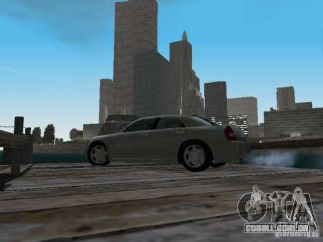 Chrysler 300C HEMI 5.7 2009 para GTA San Andreas vista interior
