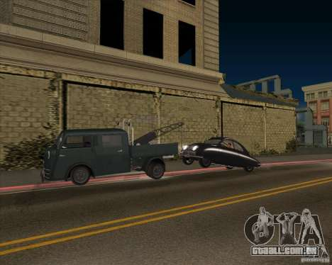 Tempo Matador 1952 Towtruck version 1.0 para GTA San Andreas vista interior