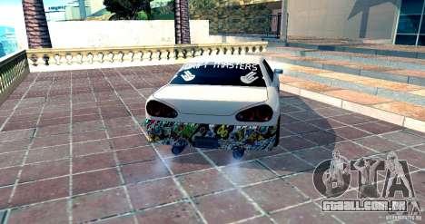 Elegy Drift Masters v0.2 para GTA San Andreas esquerda vista