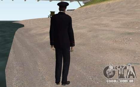 O oficial do Ministério do INTERIOR para GTA San Andreas quinto tela