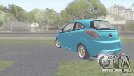 Ford Ka Stance Perry Edtion para GTA San Andreas vista direita