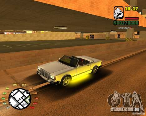 Extreme Car Mod SA:MP version para GTA San Andreas por diante tela