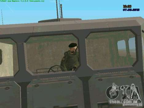 Marine RF para GTA San Andreas sexta tela