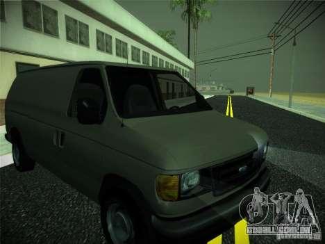 Ford E150 2000 para GTA San Andreas esquerda vista