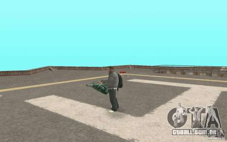 Animação de GTA IV para GTA San Andreas por diante tela