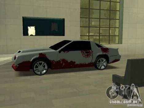 Sangue em máquinas para GTA San Andreas terceira tela