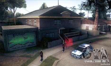 CJ em casa nova para GTA San Andreas