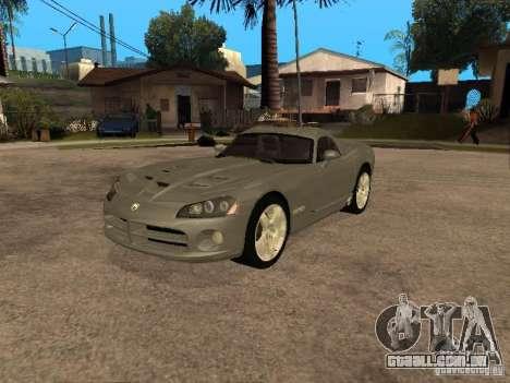 Dodge Viper Coupe 2008 para GTA San Andreas