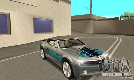 Chevrolet Camaro Concept 2007 para o motor de GTA San Andreas