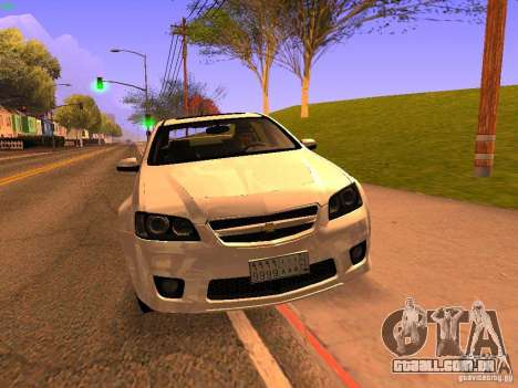 Chevrolet Lumina para GTA San Andreas vista interior