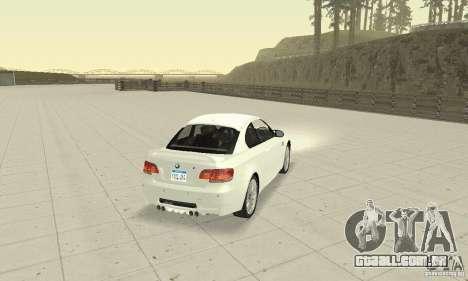 BMW M3 2008 Convertible Hamann para GTA San Andreas