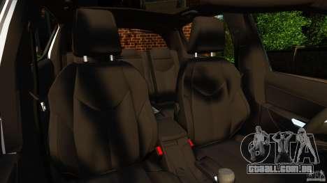 Peugeot 308 2007 para GTA 4 vista interior