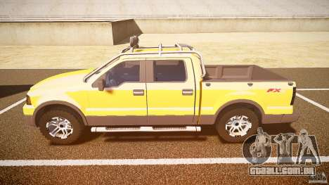 Ford F150 FX4 OffRoad v1.0 para GTA 4 esquerda vista