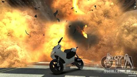 Yamaha Aerox v1.2 para GTA 4 vista de volta