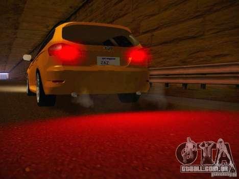 Ford Mondeo Sportbreak para GTA San Andreas vista interior