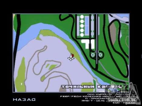 Piggsy on Mount Chilliad para GTA San Andreas quinto tela