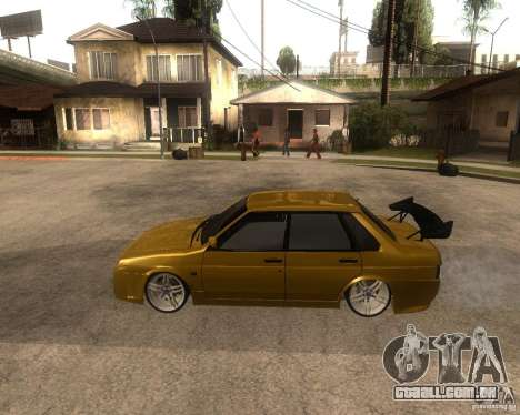 VAZ 21099 carro Tuning para GTA San Andreas esquerda vista