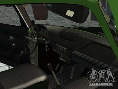 IZH Combi 21251 para GTA San Andreas vista traseira