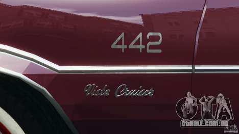 Oldsmobile Vista Cruiser 1972 v1.0 para GTA 4