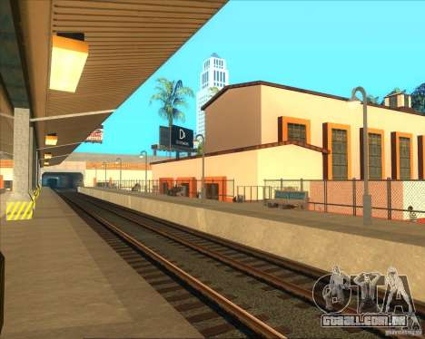 As plataformas elevadas em estações ferroviárias para GTA San Andreas