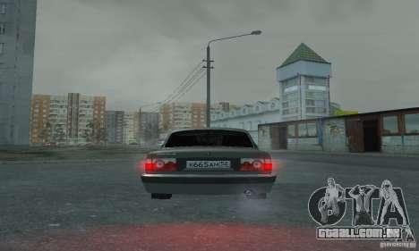 GAZ 3110 para GTA San Andreas vista interior