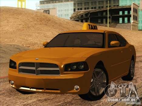Dodge Charger STR8 Taxi para GTA San Andreas
