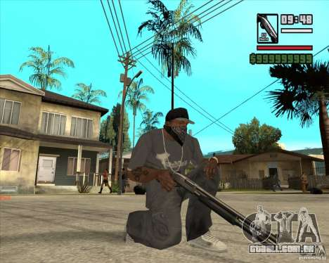Millenias Weapon Pack para GTA San Andreas terceira tela